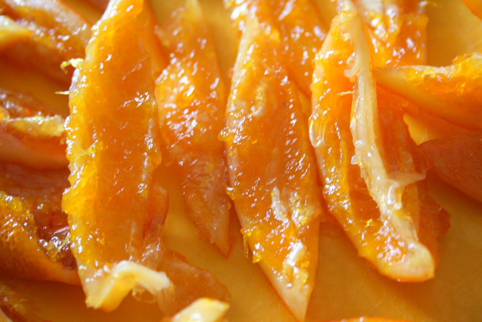 Цукаты из апельсиновых долек рецепт