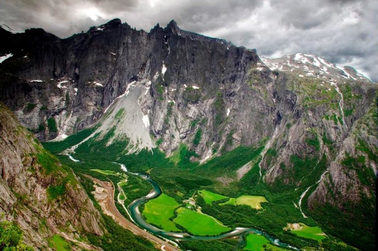 3. The Troll Wall, Romsdal - Top 10 Things to See and Do in Norway