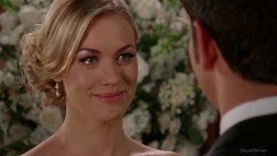 Yvonne Strahovski at her wedding