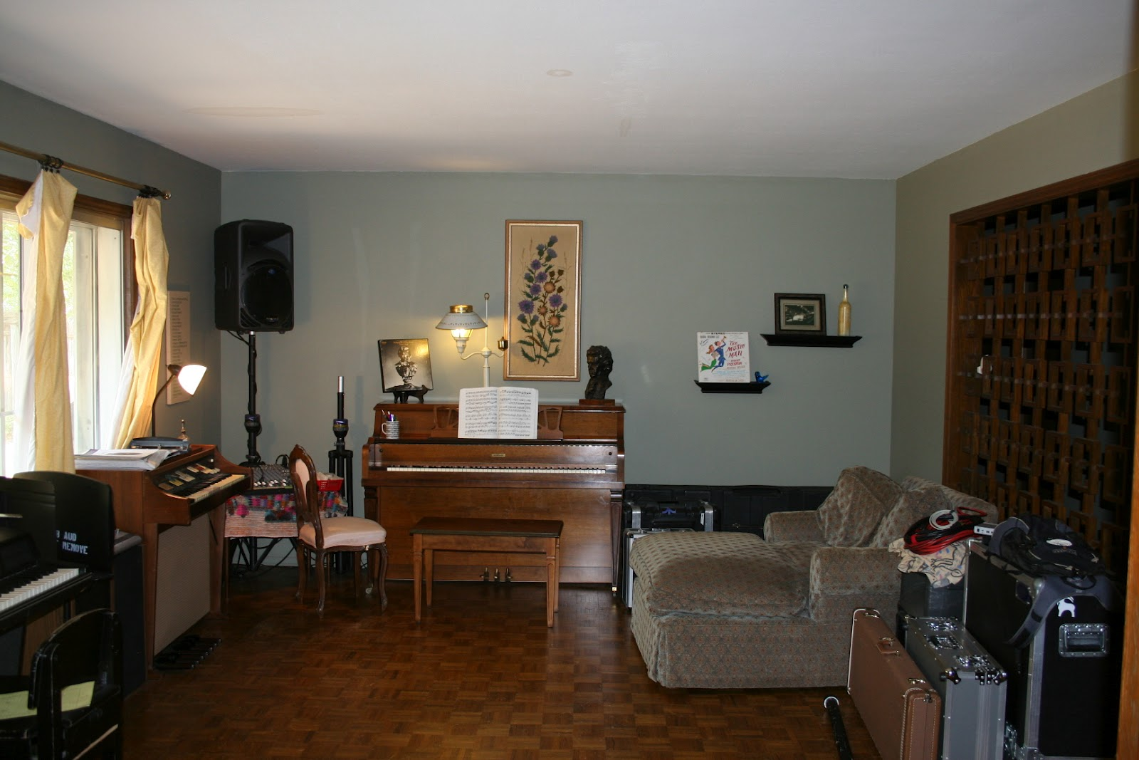 My Devising Music Room  No More Piano Lessons In The Dark. Glass Partitions For Living Room. Living Room Design Plans. Living Room Corners. Accent Living Room Chairs. British Living Room. Brown Green And Orange Living Room. Open Plan Living Room And Kitchen. Playmobil Living Room