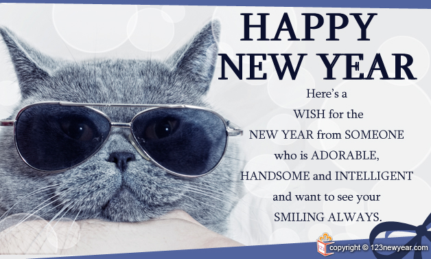 Happy New Year 2014 Funny Wishes Greeting Cards