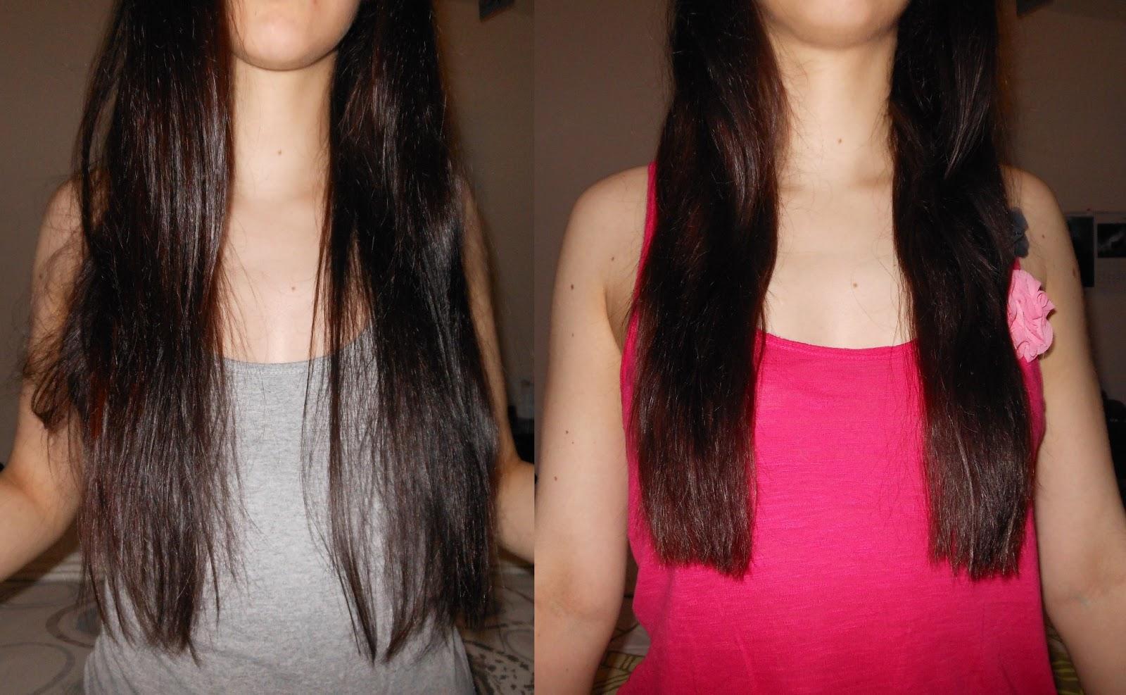 Pousse des cheveux en cm