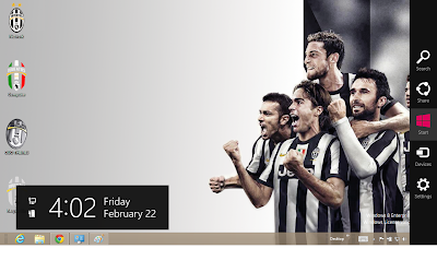 2013 Juventus Fc Windows 8 Theme