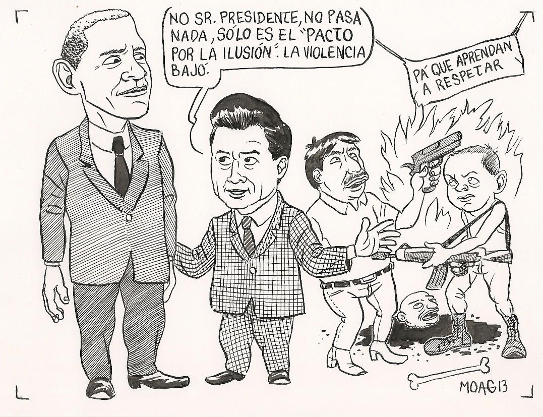 Universo caricaturistico tipos de caricaturas for Que es politica internacional