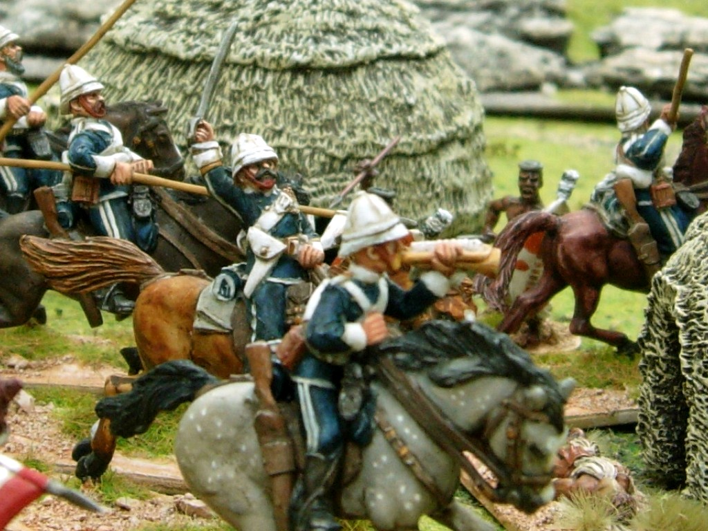 Wargaming with Silver Whistle: ZULU WAR BRITISH LANCERS