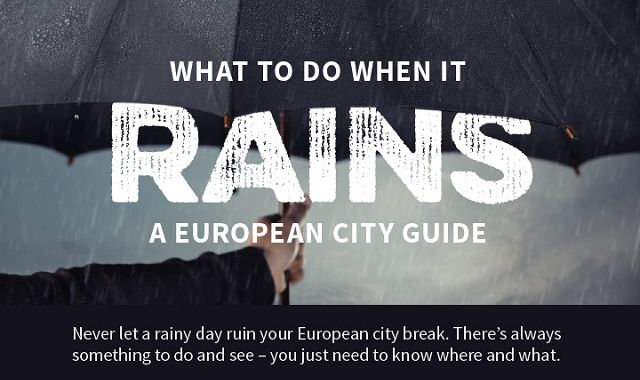 What to Do When it Rains: A European City Guide