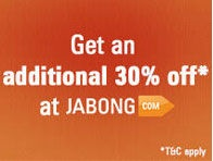ICICI bank Jabong 30% off