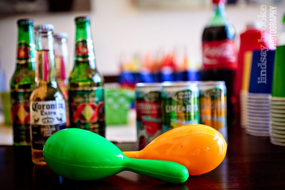 beer and maracas
