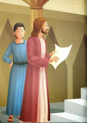 A história bíblica de Daniel ilustrada
