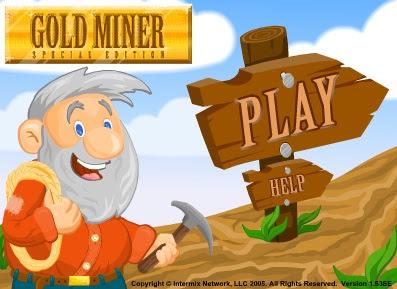 لعبة تجميع الذهب Gold Miner Special Edition