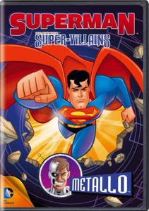Superman Super Villains Brainiac 2013 DVDRip Latino Animación