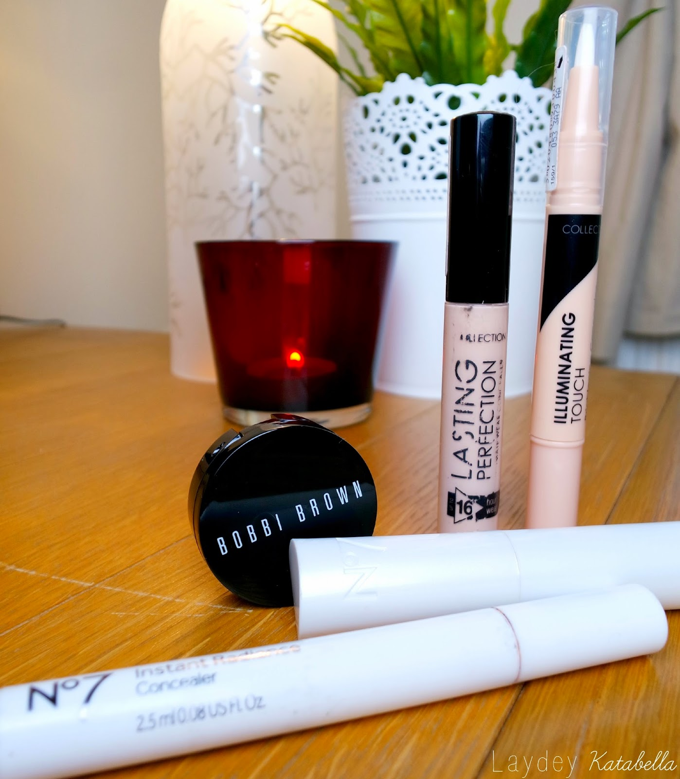 Photo of No7 Match Made Concealer, Bobbi Brown Corrector, No7 Instant Radiance Concealer, Collection 2000 Lasting Perfection Concealer and Collection Illuminating Touch Concealer
