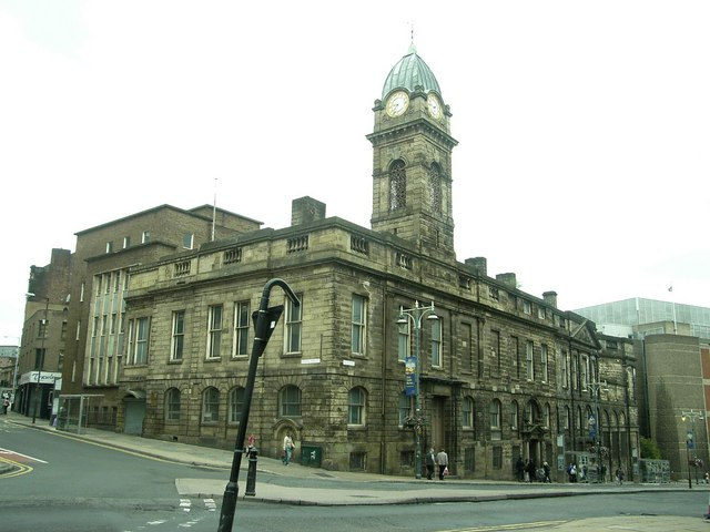 Sheffield, Old Town Hall, Waingate