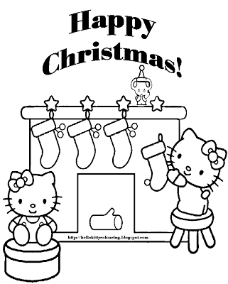 Páginas para colorear Feliz Navidad coloring.filminspector.com