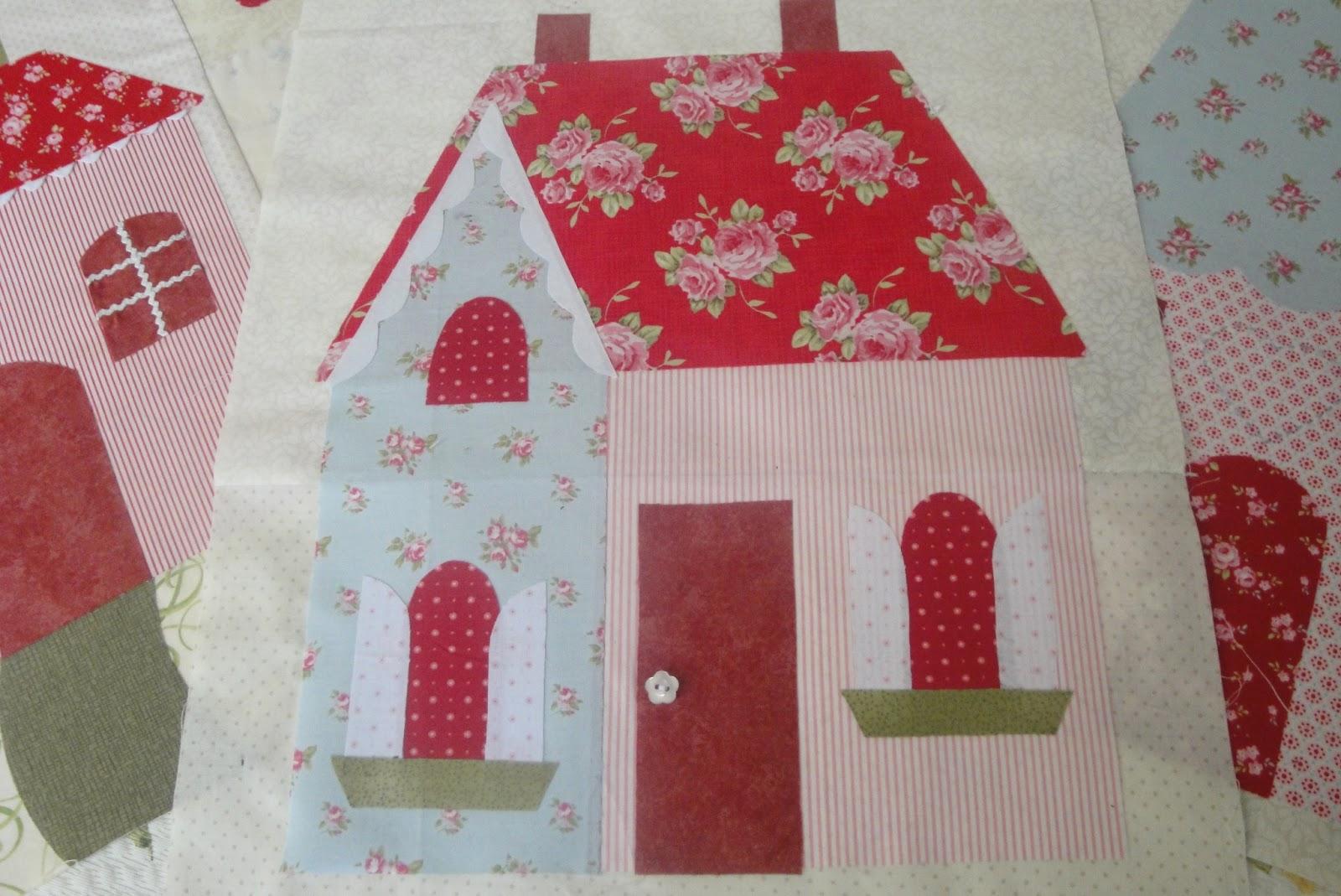 El patchwork de kris nuevo proyecto sweetheart houses de - Proyectos de patchwork ...