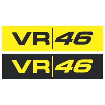 VR 46 logo vector coreldraw