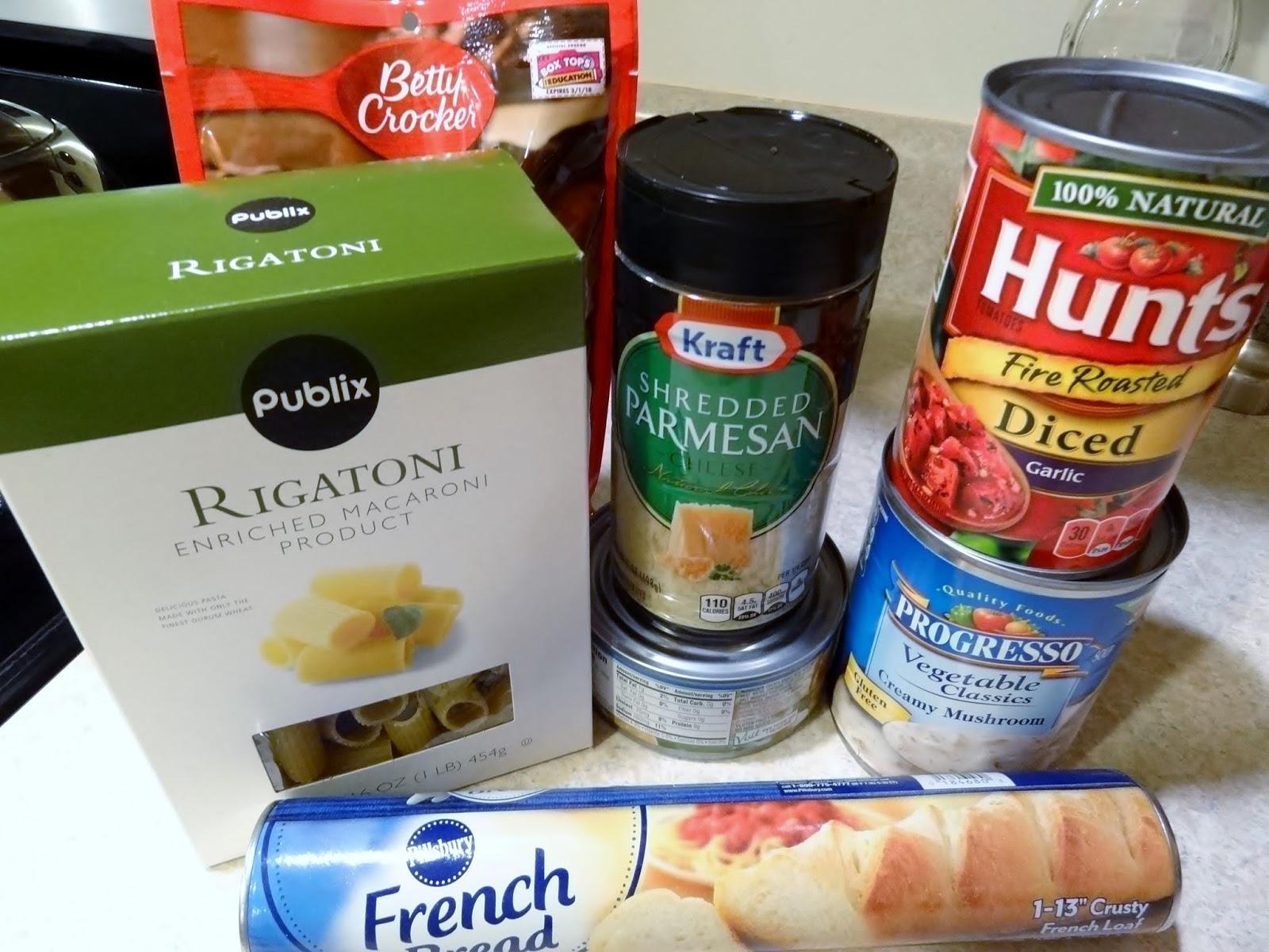 #PublixVivaItalia raid the pantry dinner
