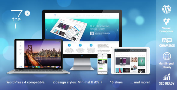 Free Download The7 V2.3.2 Responsive Multi-Purpose WordPress Theme
