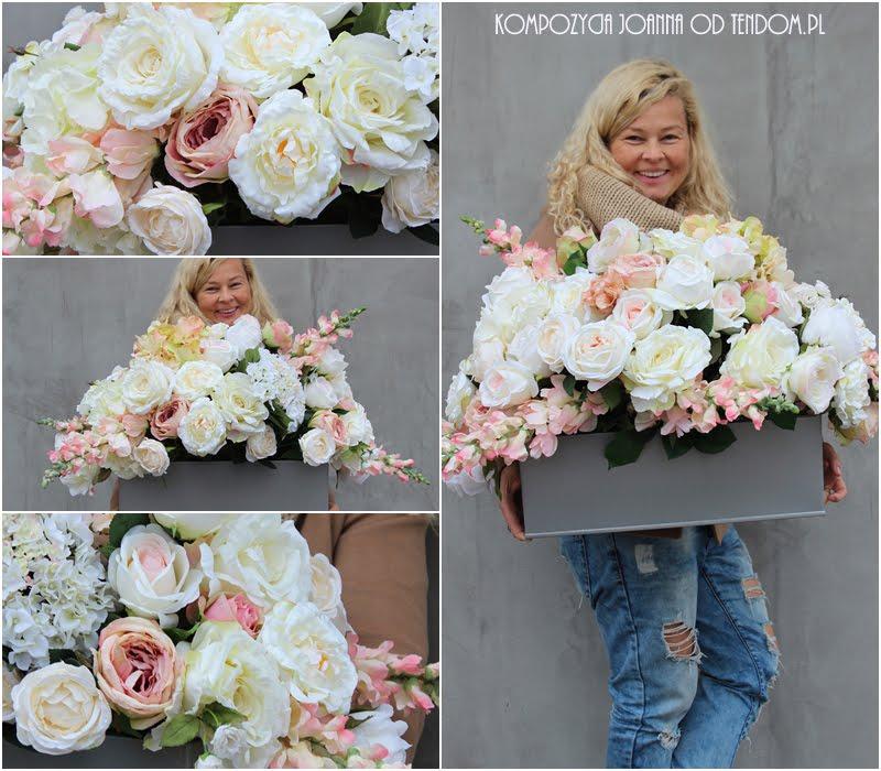 Piękne kompozycje z kwiatów z naszej pracowni tenDOM