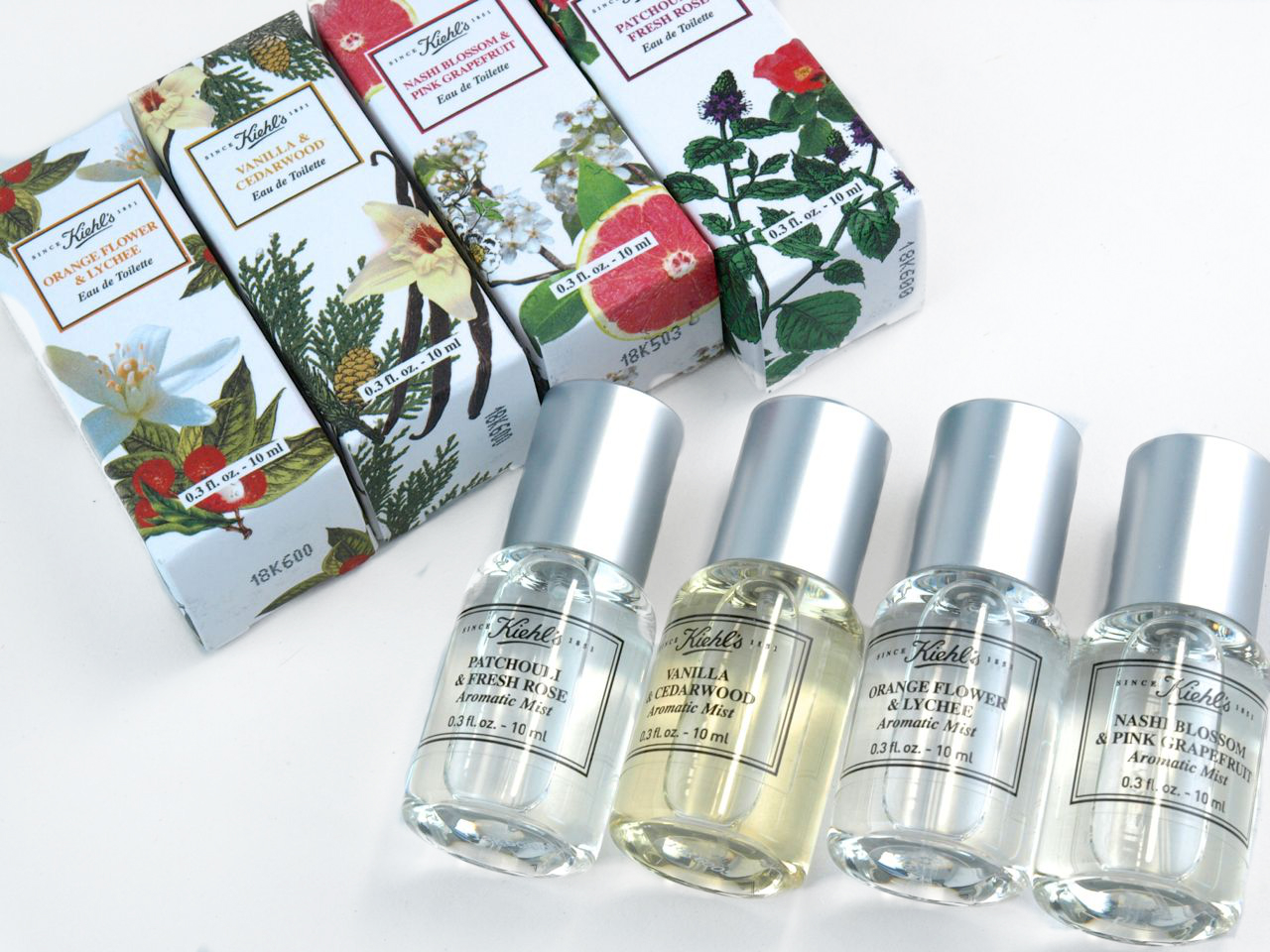 Kiehl's Aromatic Mist Fragrance Set: Review