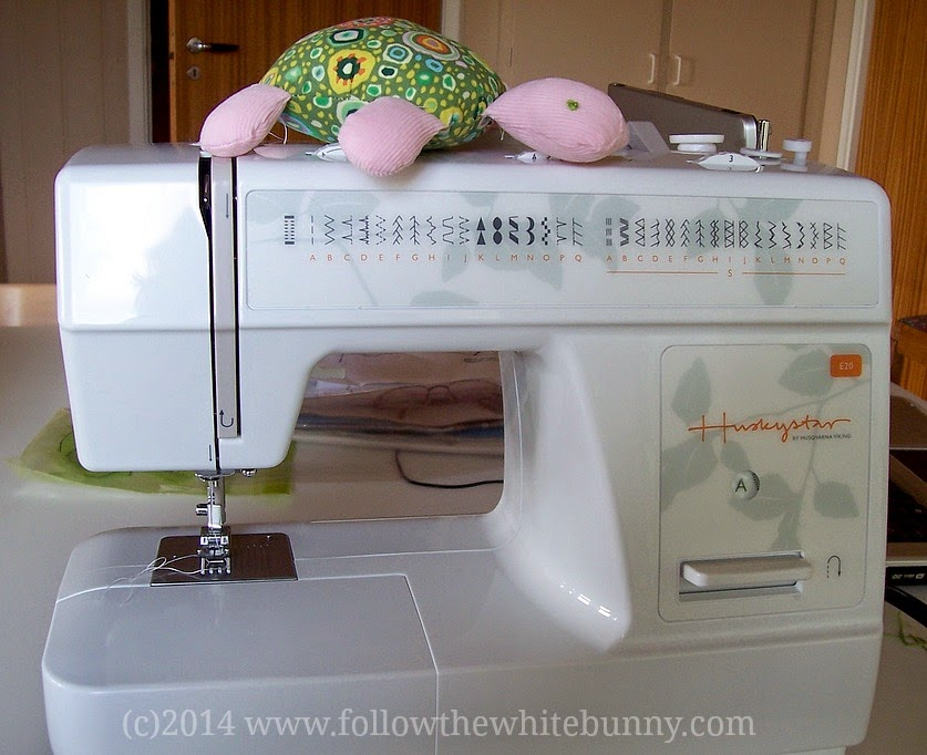 Follow The White Bunny IKEA Sewing Machine Review Custom How To Use Ikea Sewing Machine