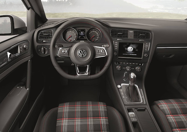 VW Golf GTI 2016 - interior