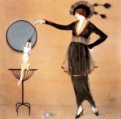 Jugant amb el gat (Xavier Gosé)