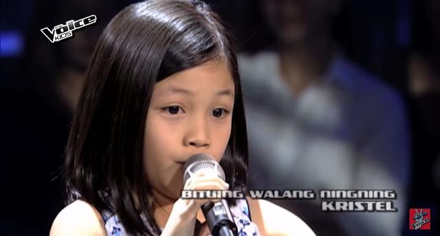 "Kristel Belo sings ""Bituing Walang Ningning"" on 'The Voice'"