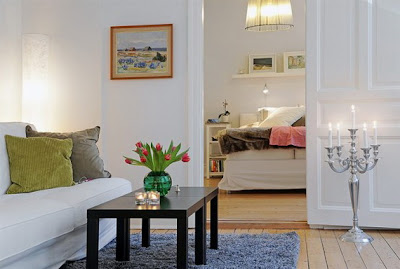 D cor d 39 int rieur d 39 un petit appartement d cor de maison for Arredare piccoli ambienti
