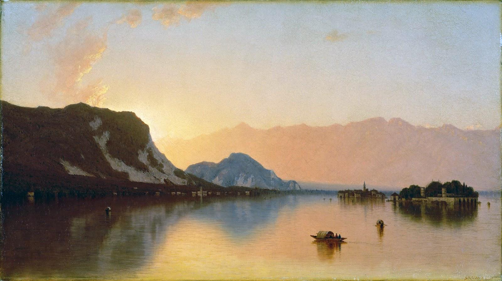 19th Century American Paintings Hudson River School Ctd