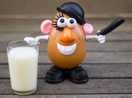 Mr. Potato versión La naranja mecánica