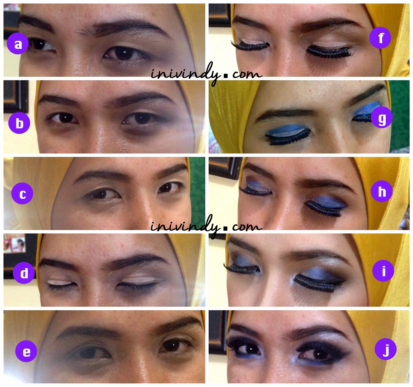 Model 5. Tips Tutorial Make Up Hijab Modern image