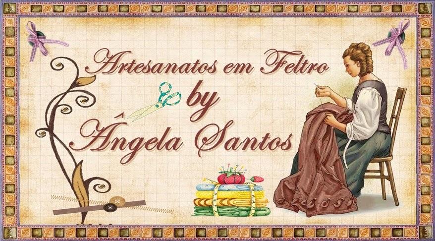 Artesanatos em feltro by Ângela Santos