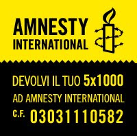 IL 5X1000 AD AMNESTY INTERNATIONAL.