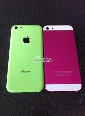 iPhone de bajo costo y iPhone 5S