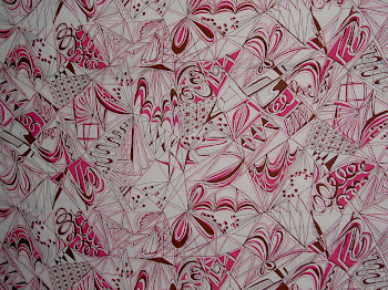 Wonderful New Abstracts (In Pink, No Less!)