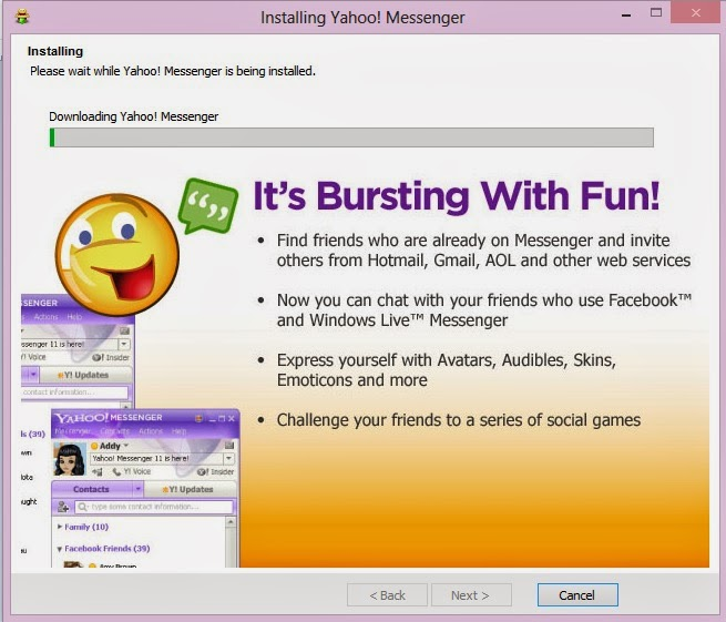 Download dan Install Yahoo Messenger