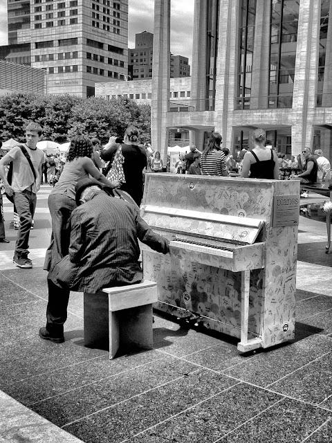 A Few Notes, #SFHpianos, #chobanipiano, #artforall, #singforhope, #NYC, 2013
