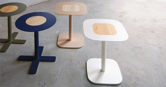 Blush, tafel, side table,spell, designkeus