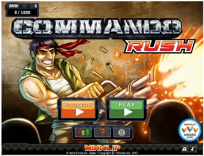 Game : Commando R