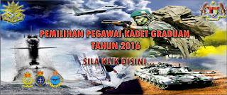Jawatan Kosong di Angkatan Tentera Malaysia (ATM)
