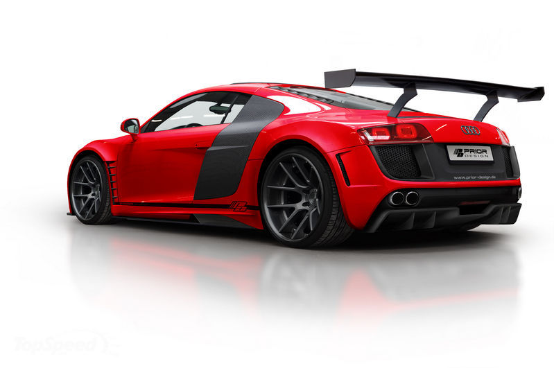 An Audi R8 Custom – Audi Red R8 · Free Stock Photo