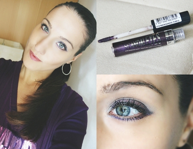 "Rimmel ""Scandal eyes"" eyeshadow in Manganese purple"