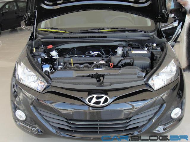 carro HB20 Hyundai Automático - motor