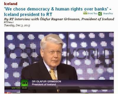Η Ισλανδία διαγράφει χρέη νοικοκυριών απο στεγαστικά! «Επιλέξαμε τη δημοκρατία και τα ανθρώπινα δικαιώματα έναντι των τραπεζών». Εμείς πάλι επιλέξαμε το αντίθετο...