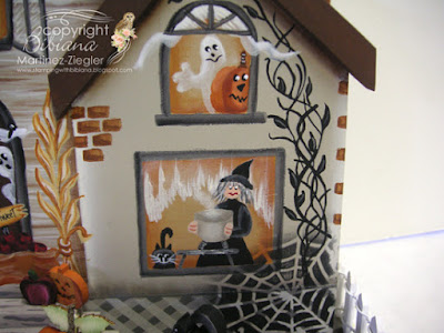 wood halloween house right