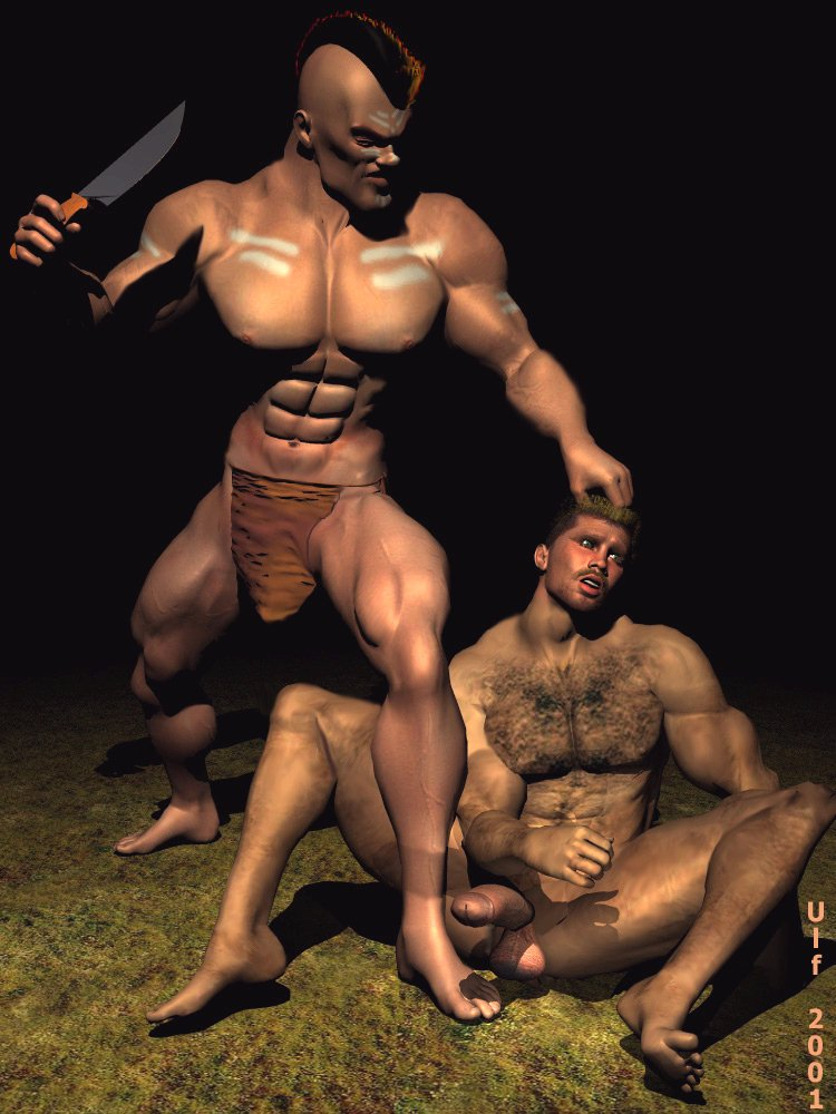 from Garrett naked native american men paintings