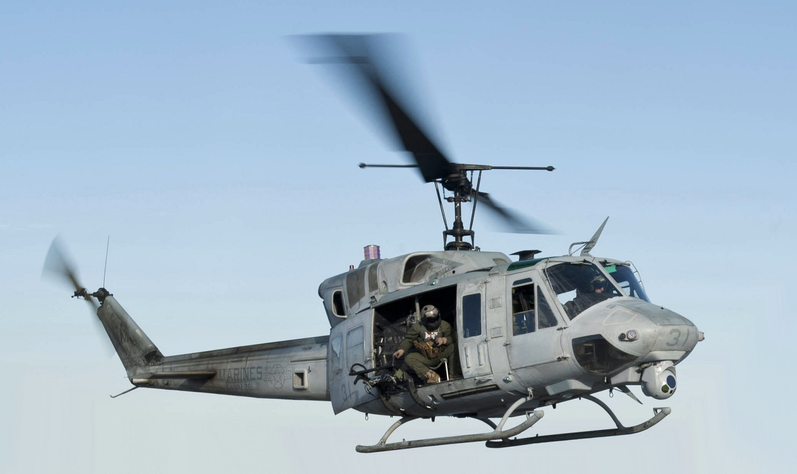 Huey Helicopter For Sale >> Naval Open Source INTelligence: UH-1N 'Huey' retired from USMC service