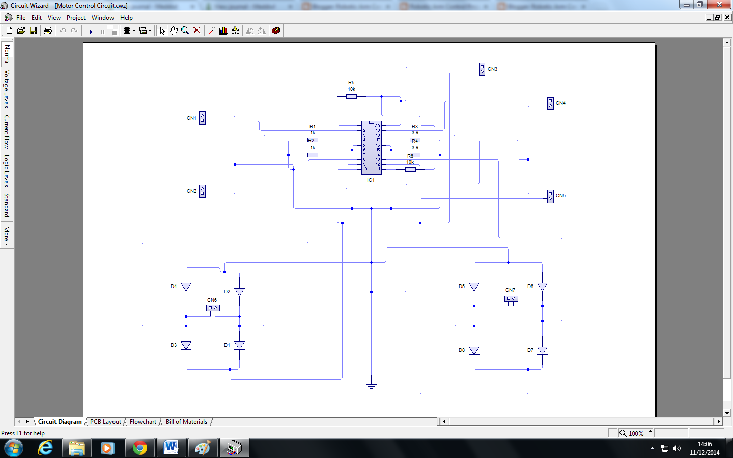 Robotic Arm Control Project Maplins Opto Isolation Breadboard Circuit Diagram To Motor Driver Design Cylched Dylunio Modur Gyrrwr