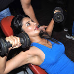 Rachna Shah Nipple visible During Gym Workout